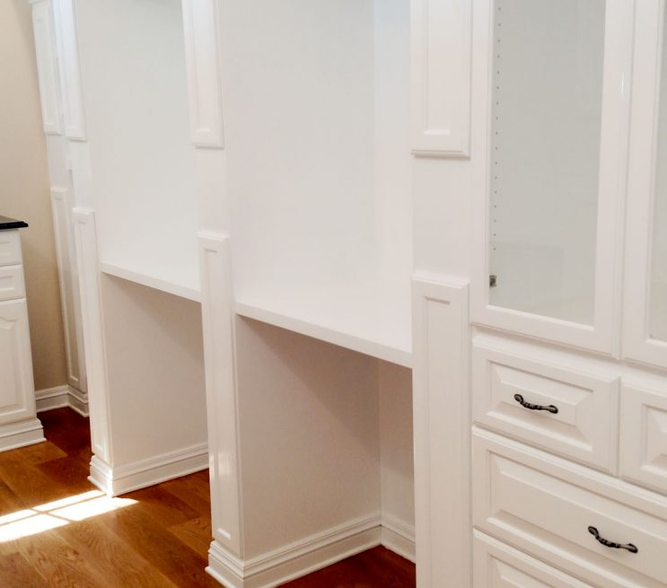 Built-In Armoire and Drawers