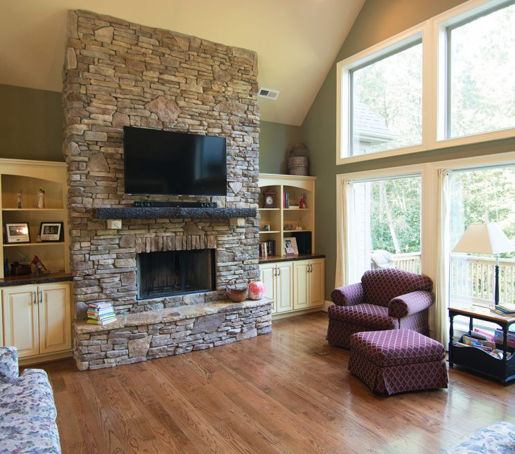Living Room Cabinets and Shelving