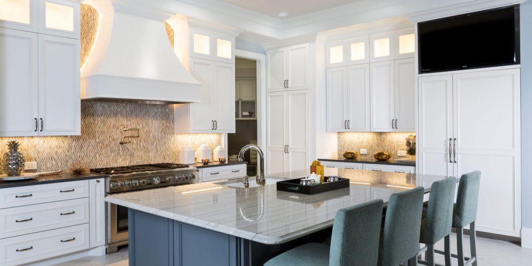 Full Kitchen Custom Cabinets