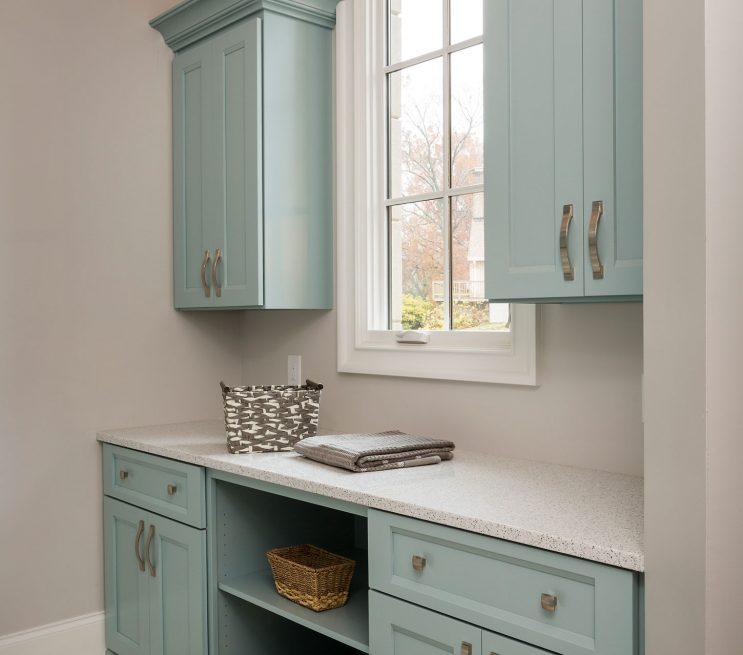 Washroom Custom Cabinets