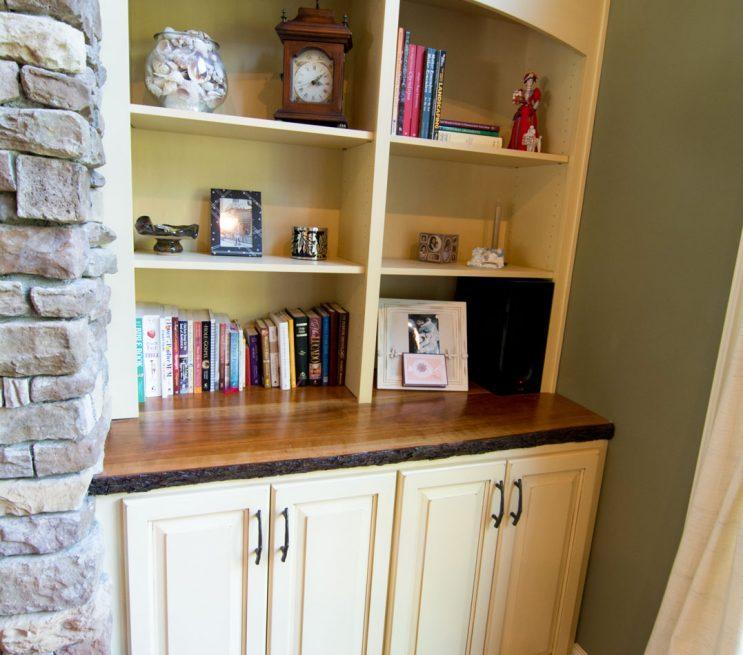 Custom Living Room Storage