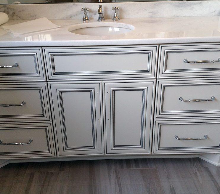 Marble Vanity Remodel