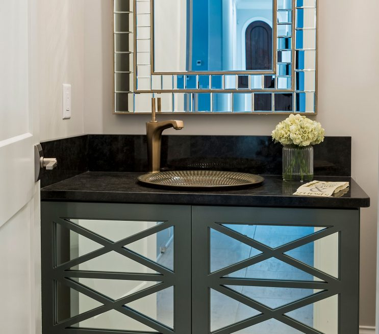 Custom Mirror Bathroom Cabinetry