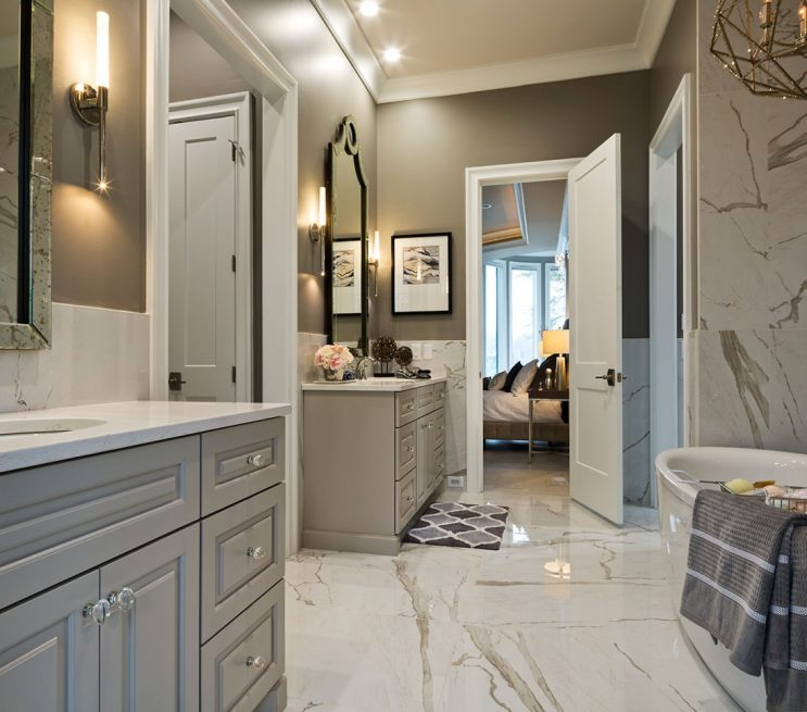 Full Bath Custom Cabinetry