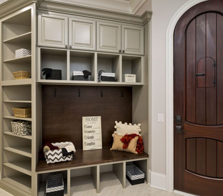 Custom Mudroom Cabinetry